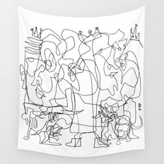 Two Kings Wall Tapestry