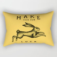 MAKE YOUR OWN LUCK Rectangular Pillow