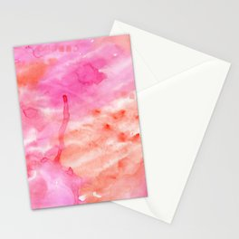 Pink #15 Stationery Cards