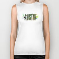 austin Biker Tanks featuring Austin by Tonya Doughty