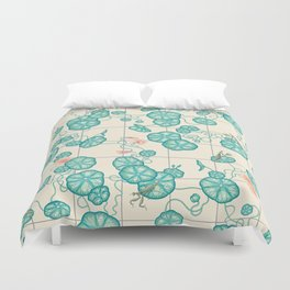 Dream spring is coming. Duvet Cover