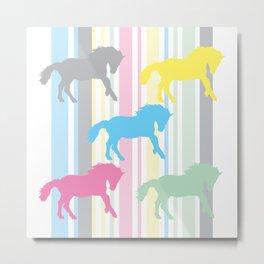 Carousel Horse 01 Metal Print