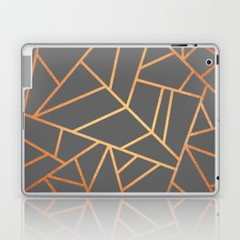Copper And Grey Laptop & iPad Skin