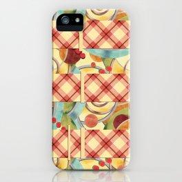 Plaid Europa Retro iPhone Case