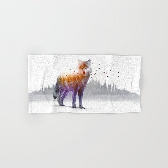 A Wilderness Within / Wolf Hand & Bath Towel