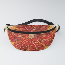 Vintage Botanical Pomegranate Fanny Pack