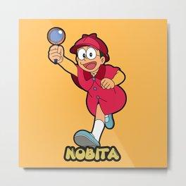 Detective Nobita Metal Print