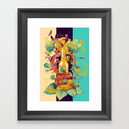 Natural Cycle Framed Art Print