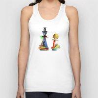 chess Tank Tops featuring chess by tatiana-teni