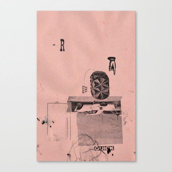 fin de emision Canvas Print