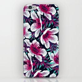 Manuka Floral Print -  Light iPhone Skin