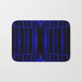 Playing in Blue Bath Mat