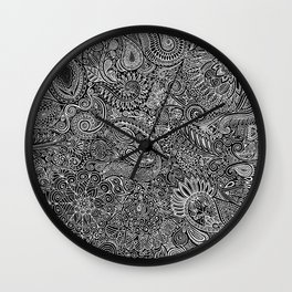 Maniac arabesque Wall Clock