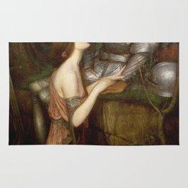 John William Waterhouse - Lamia Rug