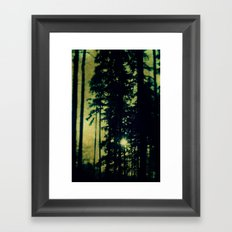 htre Framed Art Print