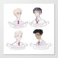 marauders Canvas Prints featuring Marauders by reinardfox