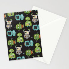 Robot Life Stationery Cards