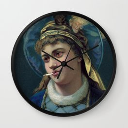 Her Royal Highness Wall Clock