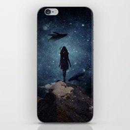 Deep dreams iPhone Skin
