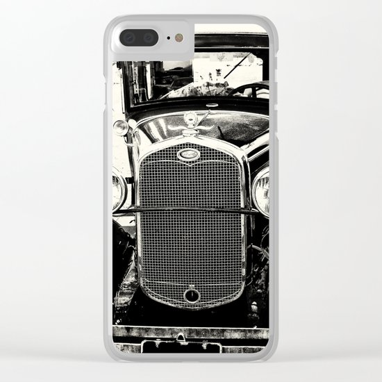 Model A Ford Clear iPhone Case