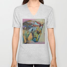 Horse Study Unisex V-Neck