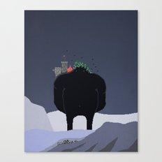 Mountain Giant Canvas Print