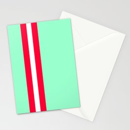 Aquafresh Racing Stripe Stationery Cards