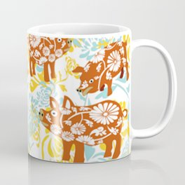 The Year of The Pig with Chysanthemums Coffee Mug