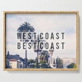 West Coast Best Coast Serving Tray