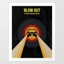 Blow Out Art Print