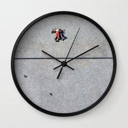 "From Centre George Pompidou (Paris) ""GEOROMANTIC"" series Wall Clock"