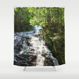 Thundering Brook Falls Shower Curtain