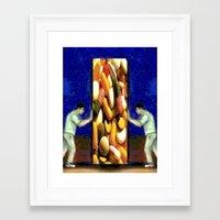 scrubs Framed Art Prints featuring SCRUBS by Laertis Art