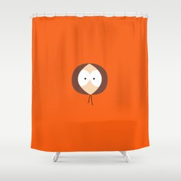 Where is Kenny? Shower Curtain