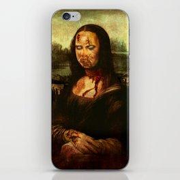 No Mona! Not You Too! iPhone Skin