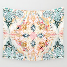 Wonderland in Spring Wall Tapestry