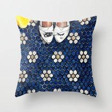 Art Beneath Our Feet Project - Grand Rapids Throw Pillow