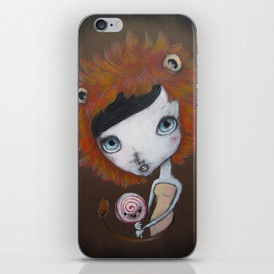 Lion girl iPhone & iPod Skin
