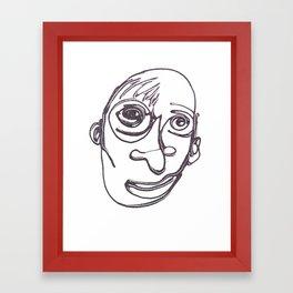 SPARKLE / 010 Framed Art Print