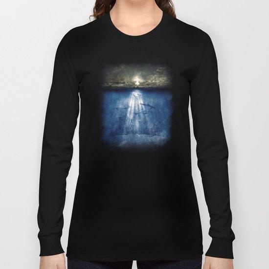 dolphins, civilization. Long Sleeve T-shirt