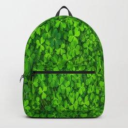 Shamrock Leafes Backpack