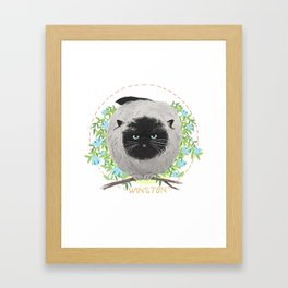 Winston Framed Art Print