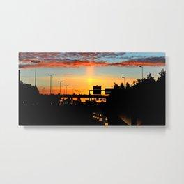 Awakening Light Metal Print