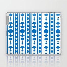Blue Tribal Pattern Laptop & iPad Skin