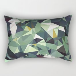 Martinique Low Poly Rectangular Pillow