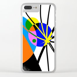 Collisions Clear iPhone Case