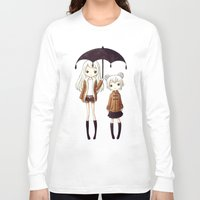 sisters Long Sleeve T-shirts featuring Sisters by Freeminds