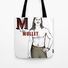 M is for Mullet Tote Bag