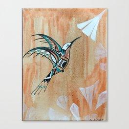 Zuni Hummingbird Canvas Print