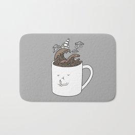 Brainstorming Coffee Mug Bath Mat